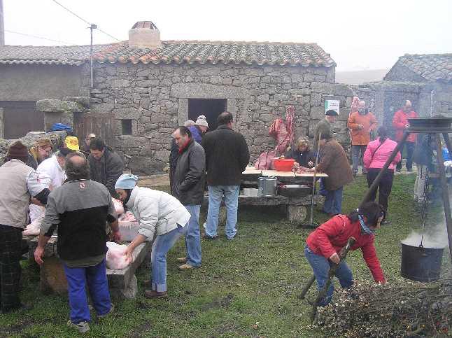 Matanza tradicional