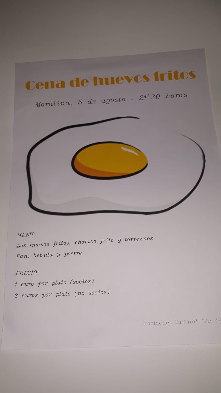 Cartel de los huevos